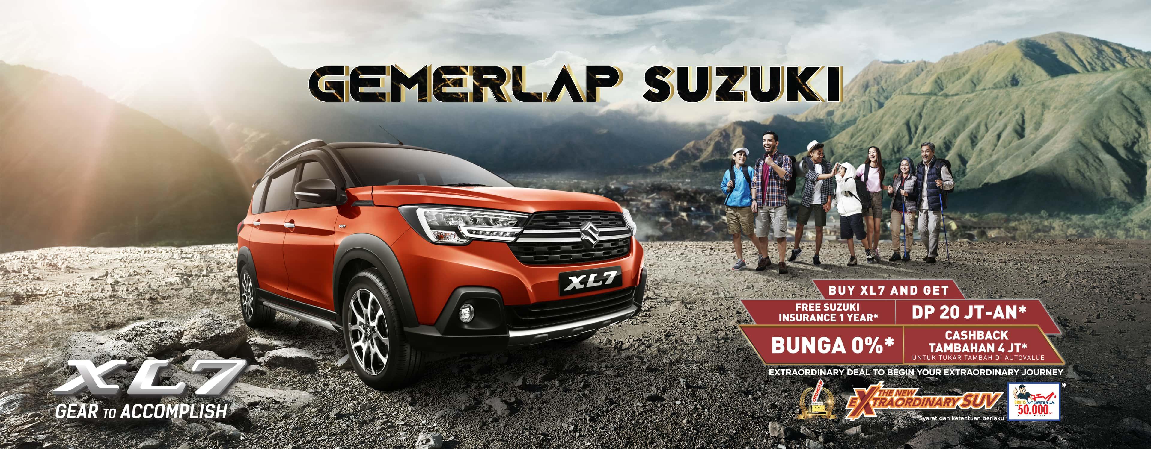 Promo Suzuki XL7